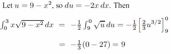 Solution to a math problem in engineering maths - calculus eprep course